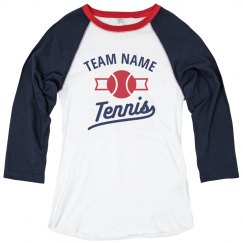 Team Tees for the Tennis Team