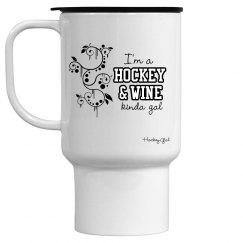 Hockey- Hockey & Wine Mug