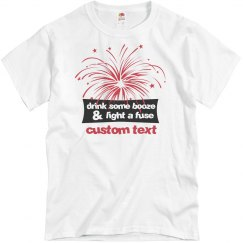 Custom Fourth of July Fireworks