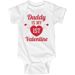 My First Valentine Onesie