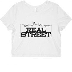 Real Street Crop Tee