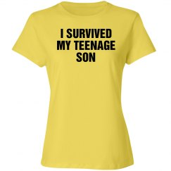 Survived my Teenage son