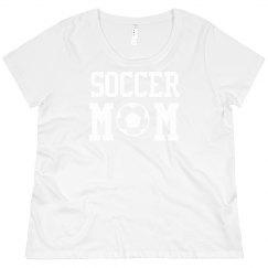 Curvy Soccer Mom Tee