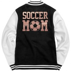 Metallic Soccer Mom Jacket