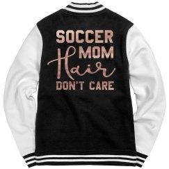 Metallic Soccer Mom Hair Jacket
