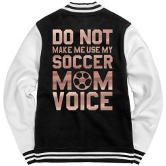 Metallic Soccer Mom Voice Jacket