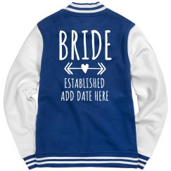 Official Custom Bride Jacket