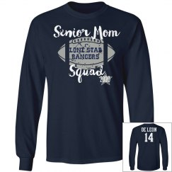 Senior Mom Football Tee