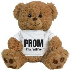 Prom Question Bear
