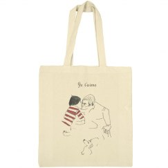 Cafe Kiss Tote Bag
