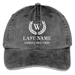 Customizable Family Reunion Hats