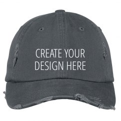 Create a Custom Distressed Hat