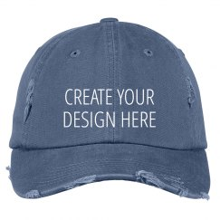 Create a Custom Distressed Hat