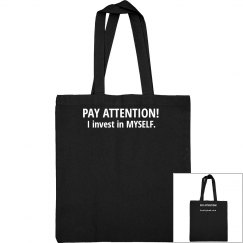 Tote Bag Pay Attention