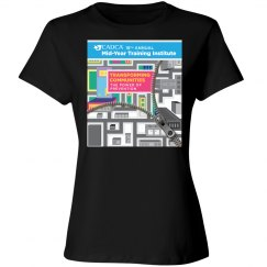 2019 Mid- Year Training Ladies T-shirt- Black