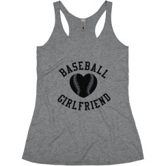 Your Trendy Baseball Girlfriend Tank Top