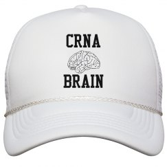 Hat- CRNA BRAIN