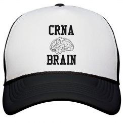 Hat- CRNA BRAIN