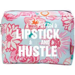 Lipstick And Hustle Makeup Bag