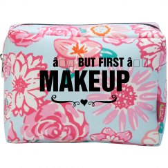 But First, Makeup Custom Bag