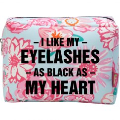 Eyelashes As Black As My Heart