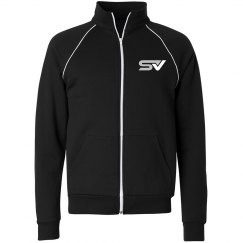 UNISEX Full Zip Fleece Track Jacket
