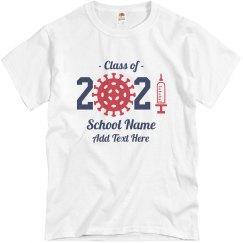 Class Of 2021 School Tee