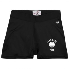 Custom Volleyball Booty Shorts