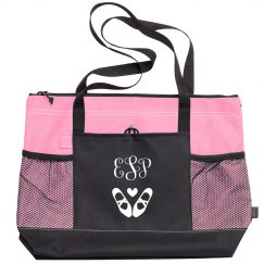 Custom Monogram Dance Ballet Tote