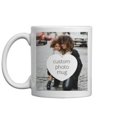 Custom Family Photo Mug