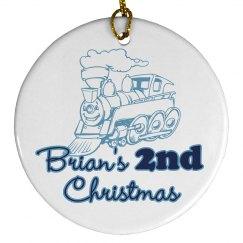 Brian's 2nd Christmas