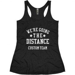 Custom Running Team Going the Distance