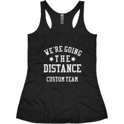 Custom Running Team Going the Distance