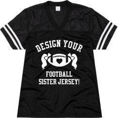 Custom Football Sis