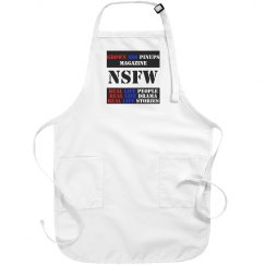 Grown Ass Pinups Magazine Apron
