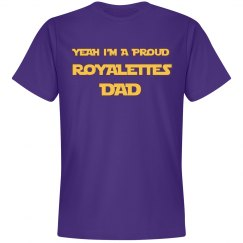 Proud Dad Purple