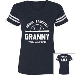 Proud Granny Custom Baseball Tee