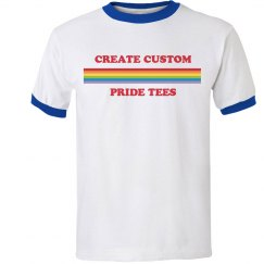 Design Custom Gay Pride Tees