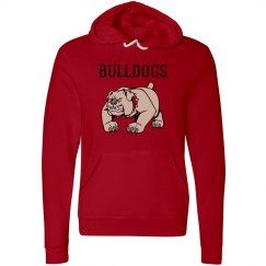 Bulldogs Red Sweatshirt Unisex