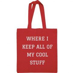 I Keep My Cool Stuff In Here