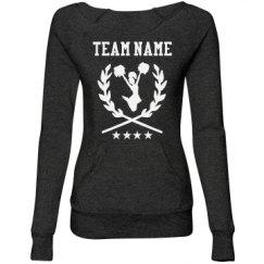 Ladies Maniac Eco-Fleece Wideneck Sweatshirt