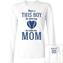 Custom Baseball Mom Love Tees