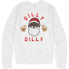 Santa's Dilly Dilly Xmas Sweater
