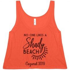 No One Likes a Shady Beach