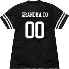 Proud Football Grandma
