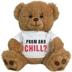 Funny Prom Bears Netflix & Chill