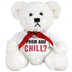 Funny Prom Bears Netflix & Chill
