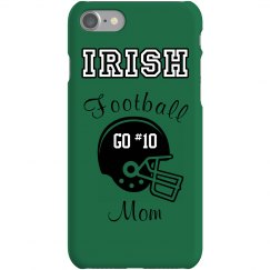 Football Mom iPhone Case