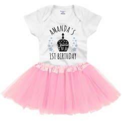 Custom 1st Birthday Tutu Onesie