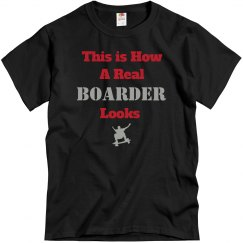 How boarder looks